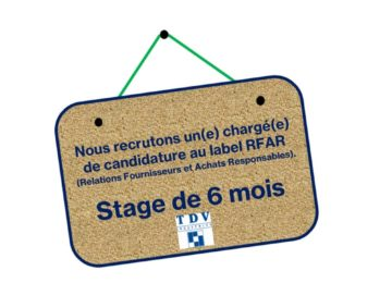 annonce recrutement stagiaire RFAR