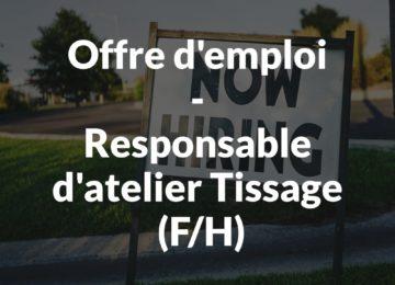 Offre d'emploi-Responsable_Atelier_Tissage