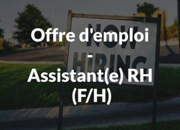 Offre d'emploi-AssistantRH